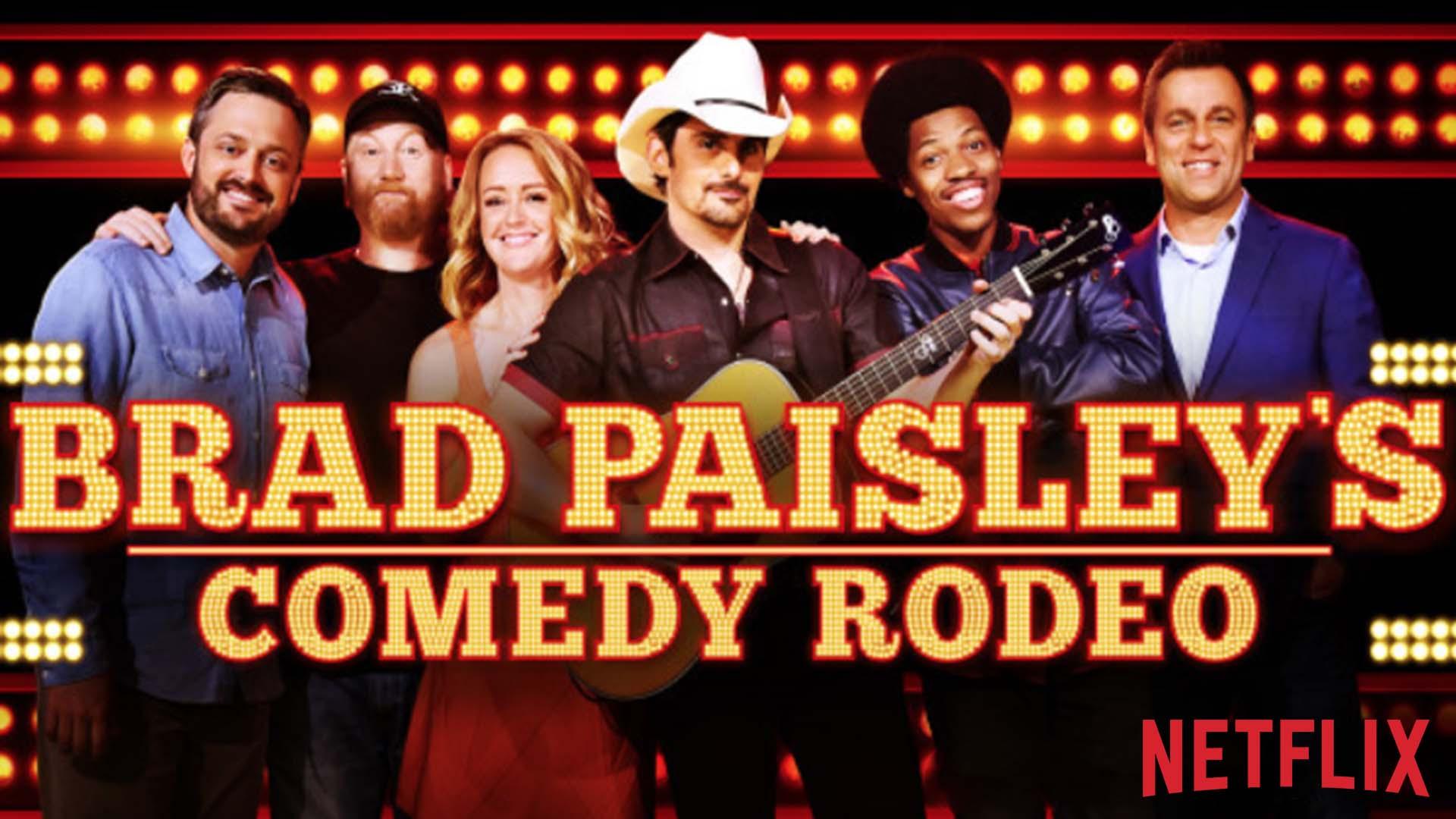 Brad Paisley Comedy Rodeo H