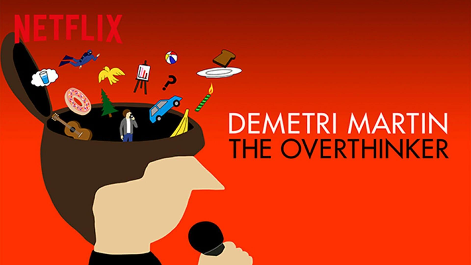 Demetri Martin Overthinker H