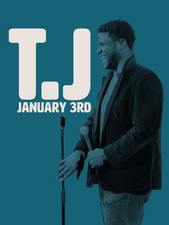 Comedy Dynamics To Release T.J: January 3rd