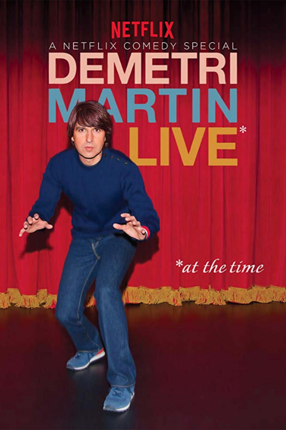 Demetri Martin Live At The Time Vertical