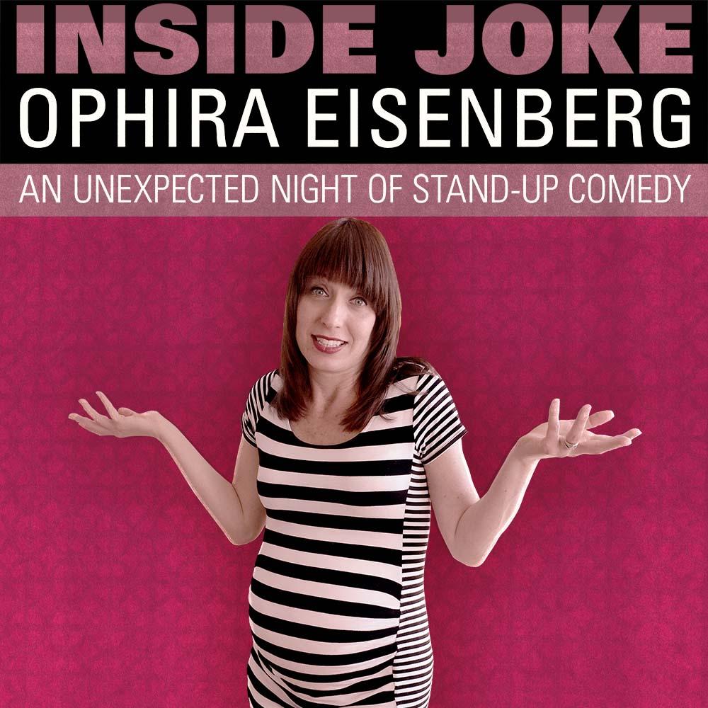 Ophira Eisenberg Inside Joke square