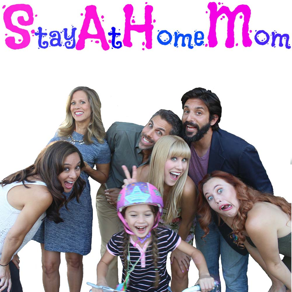 Stay At Home Mom Poster Horizontal